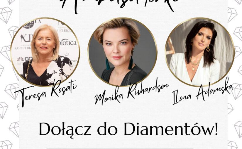 Diamenty Kobiecego Biznesu – realne wsparcie dla twojej marki!